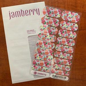 Jamberry Spring 2016 regional Very rare Full sheet